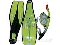 Набор для плавания желтый размер 42-44