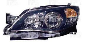 Фара передняя для Subaru Impreza '07-11 левая (DEPO) черный отражатель под электрокорректор