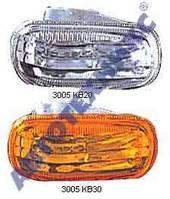 Указатель поворота на крыле Honda CR-V '02-06 левый и правый, желтый (прозрачный) (DEPO)