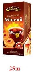 Чай Лисма чёрный ''Крепкий'' индийский 25шт