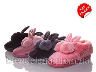 Розовый детские тапочки-чуни (р 30-31 )