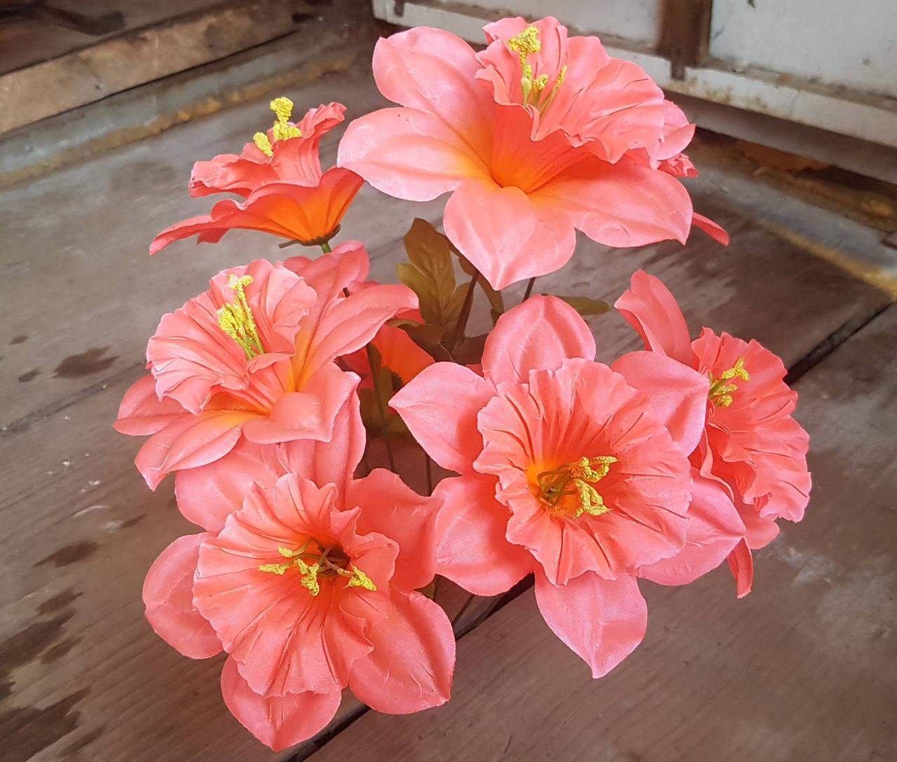 """Букет искусственных цветов """"Нарцисс""""  (60шт)"""
