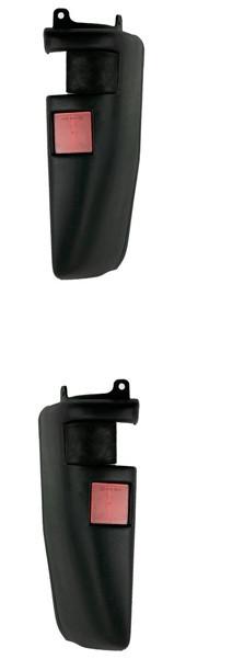 Угольник бампера задний правый с катафотом