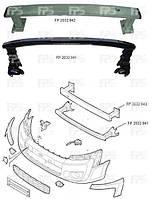 Шина бампера передняя нижняя (стальная)