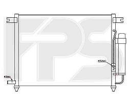 Радиатор кондиционера CHEVROLET_AVEO 04-06 SDN/HB (T200)/AVEO 06-12 SDN (T250)