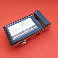 Пряжка ременная автоматическая 35mm никель