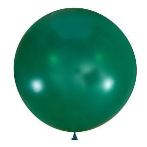 """Шар 36"""" LATEX OCCIDENTAL-МК декоратор 055 зеленый кристалл, фото 2"""