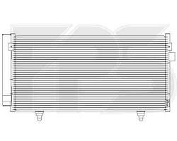 Радиатор кондиционера SUBARU FORESTER 08-12/IMPREZA 07-11