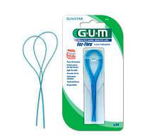 GUM Eez-Thru Floss Threaders Зубная струна 25 шт