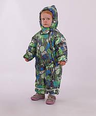 Детский зимний комбинезон-трансформер для мальчика Кико 4636,  74-86, фото 3