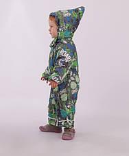 Детский зимний комбинезон-трансформер для мальчика Кико 4636,  74-86, фото 2