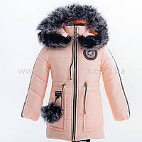 "Зимняя куртка для девочки ""Лиана"", Зима 2019 года, фото 1"