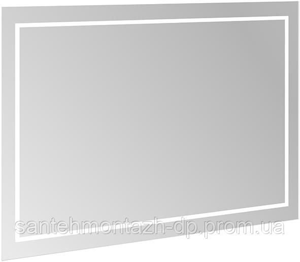 FINION дзеркало 120*75*4,5 см, з підсвічуванням, системою Bluetooth, з підігрівом