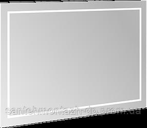 FINION зеркало 120*75*4,5см, с подсветкой, системой Bluetooth, с подогревом