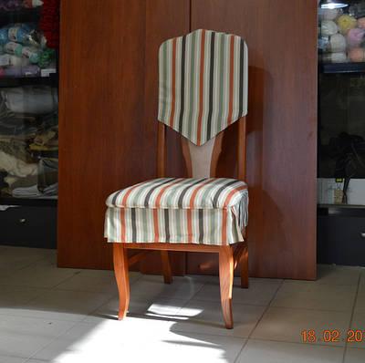 Пошив чехла на стул