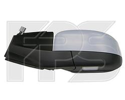 Зеркало левое электро с обогревом грунт. складывающееся 8pin с указателем поворота с подсветкой Mondeo 2010-14