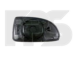Вкладыш зеркала правый с обогревом Hyundai Getz 2006-11