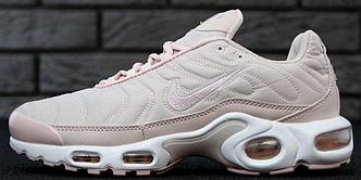 Женские кроссовки Nike Air Max Tn Plus Pink, найк аир макс тн