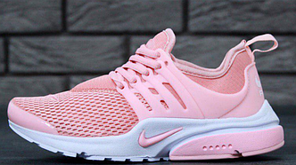 Женские кроссовки Nike Air Presto Pink White