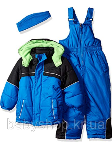 Зимний Комбинезон с Повязкой IXtreme (США) Раздельный Голубой для Мальчика  от 4 до 6 Лет — в Категории