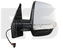 Зеркало правое электро с обогревом текстурное 6pin с указателем поворота без подсветки Twin Glass Panel