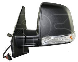Зеркало левое механическое без обогрева текстурное с указателем поворота без подсветки Single Glass Panel