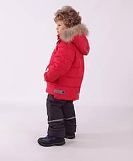 Детский зимний комбинезон для мальчика Кико 5015,  92-122, фото 3