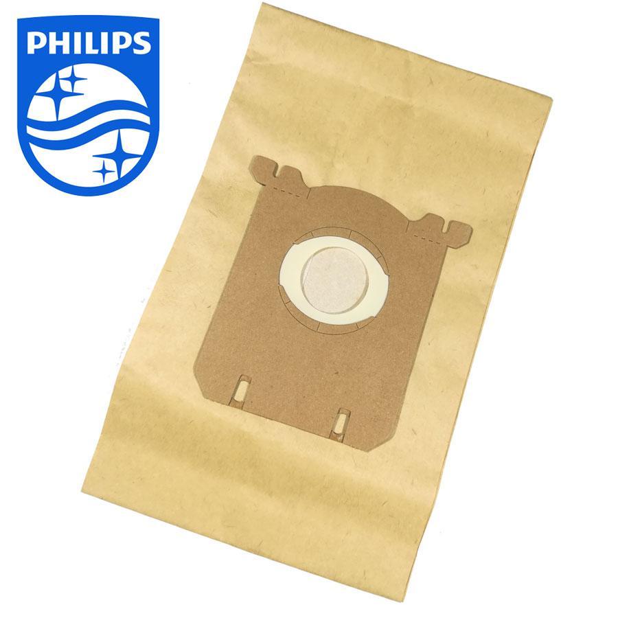 Набор одноразовых бумажных мешков к пылесосу Philips