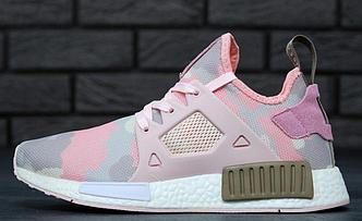 Кроссовки женские Adidas NMD XR1 Pink Camo, адидас НМД, реплика