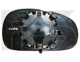Вкладыш зеркала правый с обогревом выпуклый -2009 Leon 2005-12