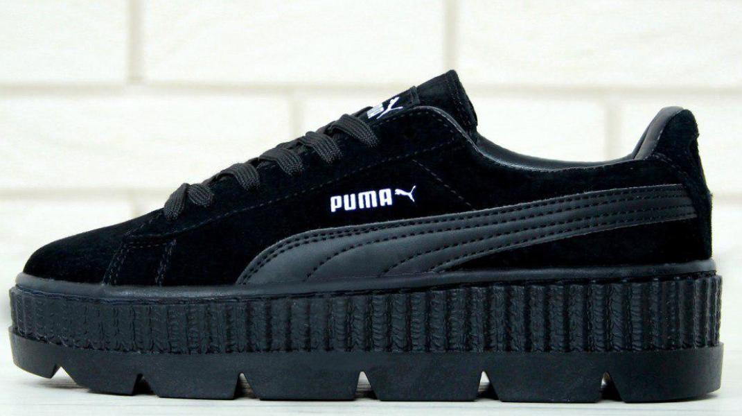 Кроссовки женские Rihanna x Puma Fenty Cleated Creeper, пума риана
