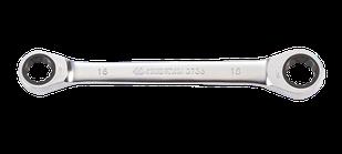 Ключ накидной с трещоткой  10*13