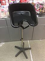 Мойка парикмахерская пластиковая на подставке черная 0148 31