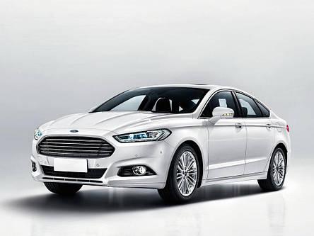 Защита переднего бампера Ford Mondeo V (14-17) (FPS), фото 2