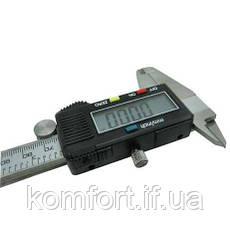 Электронный штангенциркуль 150мм с LCD дисплеем в кейсе, фото 2