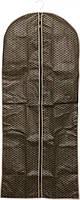 Чехол для одежды 60 х 140 см коричневый