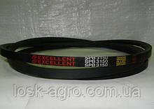 Ремінь приводний клиновий SPB-3150 УБ-3150