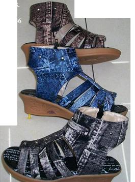 Босоножки на девочку под джинс 1213-4 (в ростовке 5 шт.)