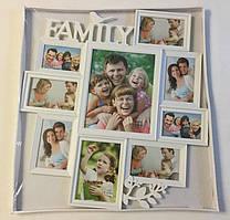 Коллаж Family Big на 9 фото (Z017-1)