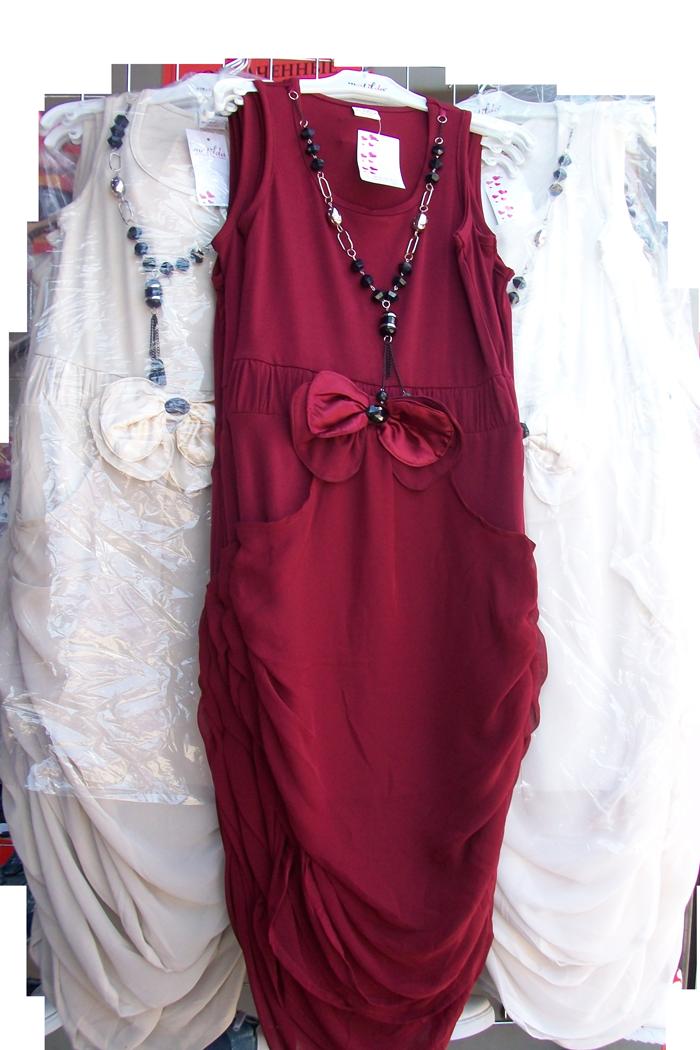 Платье с бусами (в ростовке 1шт.)