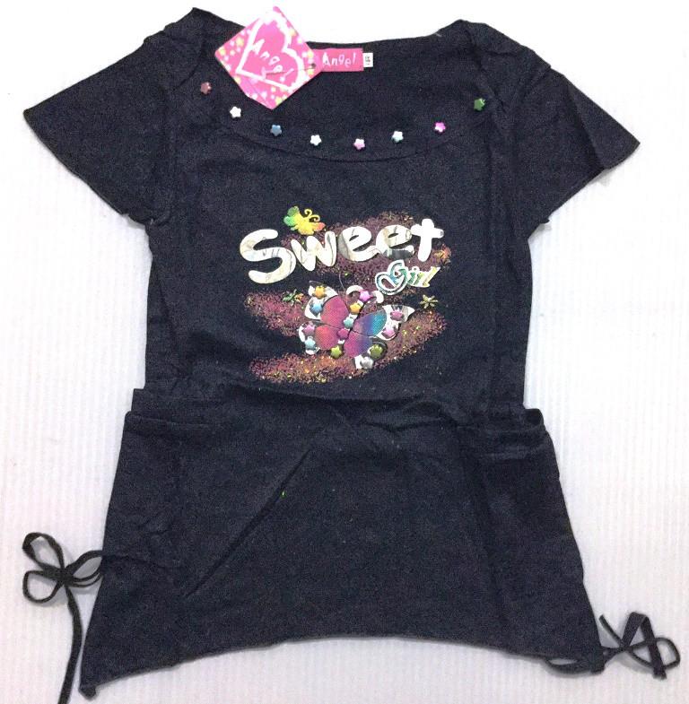 """Туника """"Sweet girl"""", на 3-7 лет, в рост. 5 шт."""