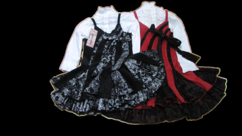 Комплект  блузка и платье (в ростовке  1 шт.)