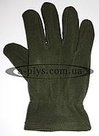 Перчатки флисовые / оливковые