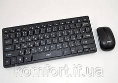 Беспроводная русская клавиатура и мышка K-03