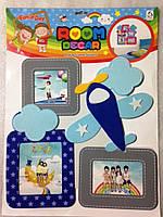 "Room Dеcor Коллаж на 3 фото ""Самолет"""