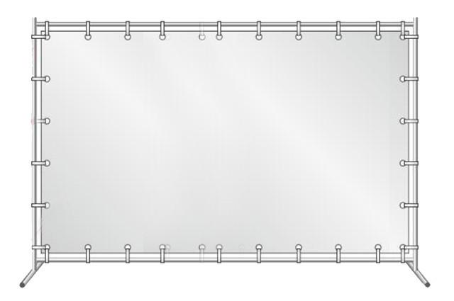 Пресс Волл Каркас для баннера 2х3м