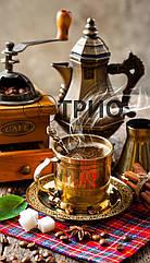 Настенный инфракрасный обогреватель картина ТРИО  Кофе