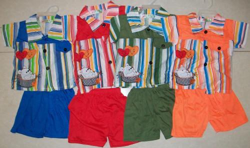"""Костюм  """"Лето"""" рубашечка и шорты (в ростовке 8шт.)"""