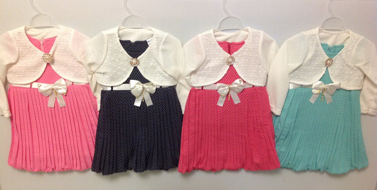 """Платье № 76 """"Nurlu"""" на 4-6 лет, в рост. 3 шт."""