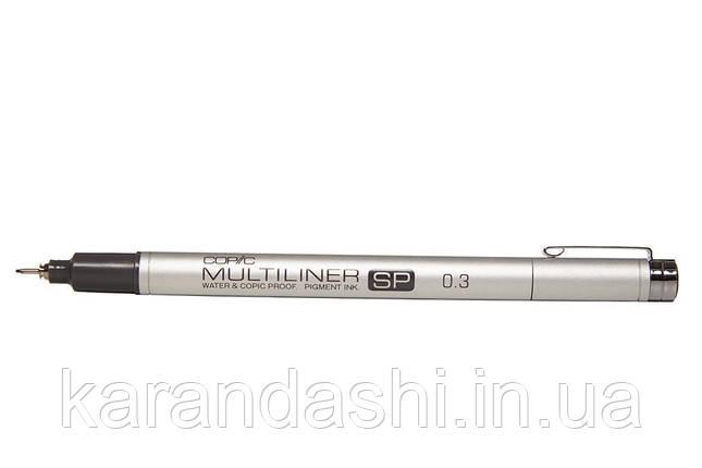 Линер Copic Multiliner SP 0,3 мм, заправляемый, фото 2